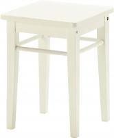 Табурет Ikea Янерик 502.419.07 (белый) -