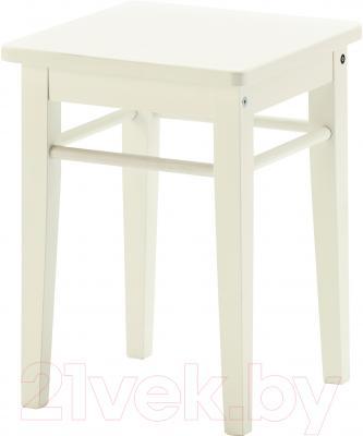 Табурет Ikea Янерик 502.419.07 (белый)