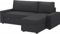 Чехол на угловой диван Ikea Виласунд 502.430.82 (темно-серый) -