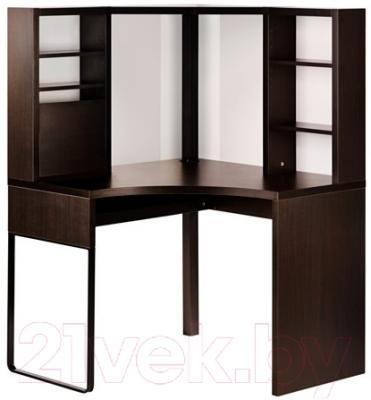 Письменный стол Ikea Микке 502.447.41 (черно-коричневый)