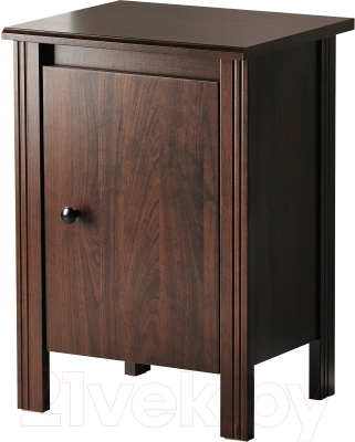 Прикроватная тумба Ikea Брусали 502.501.57 (коричневый)
