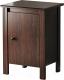 Прикроватная тумба Ikea Брусали 502.501.57 (коричневый) -