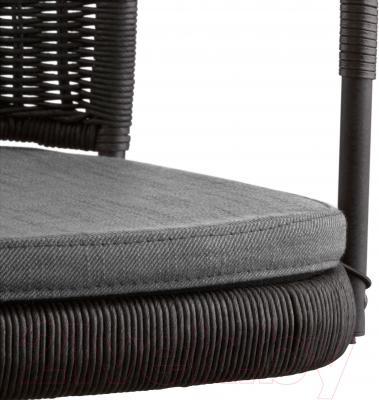 Кресло офисное Ikea Грегор 502.604.58 (черный/серый) - сиденье из ткани