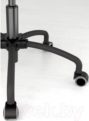 Кресло офисное Ikea Грегор 502.604.58 (черный/серый) - колесики автоматически блокируются, когда стул не используется