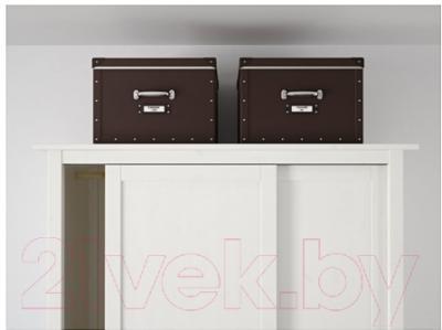 Ящик для хранения Ikea Фьелла 502.699.58 (коричневый)