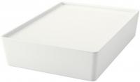 Ящик для хранения Ikea Куггис 502.823.04 (белый) -