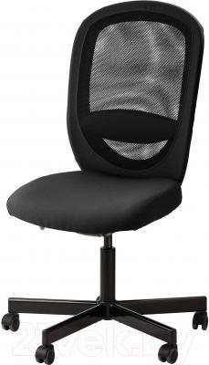 Кресло офисное Ikea Флинтан 102.838.81 (черный)
