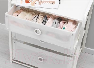 Прикроватная тумба Ikea Лоте 502.937.22 (белый)