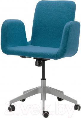 Кресло офисное Ikea Патрик 102.870.73 (синий)