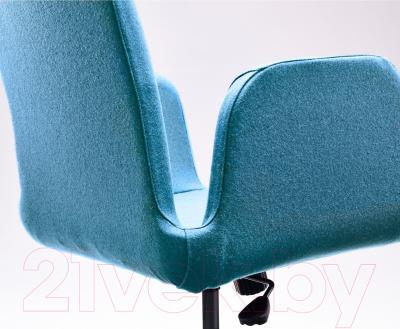 Кресло офисное Ikea Патрик 102.870.73 (синий) - вид сзади