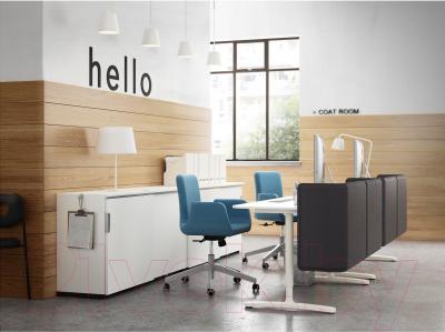 Кресло офисное Ikea Патрик 102.870.73 (синий) - в интерьере