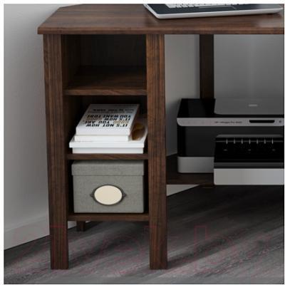 Письменный стол Ikea Брусали 503.049.90 (коричневый)