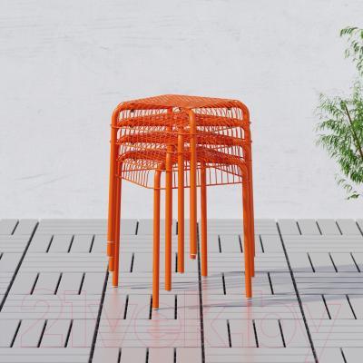 Табурет Ikea Вэстерон 503.079.55 (оранжевый)