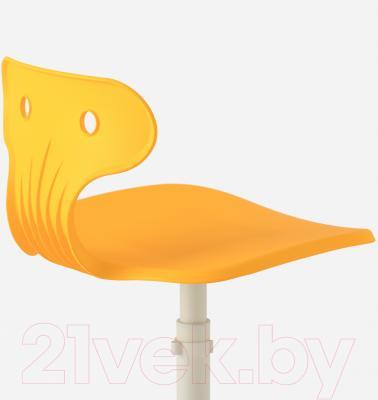 Стул офисный Ikea Мольте 503.085.87 (желтый) - вид сзади