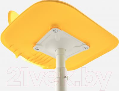 Стул офисный Ikea Мольте 503.085.87 (желтый) - регулировка высоты сиденья