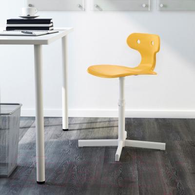 Стул офисный Ikea Мольте 503.085.87 (желтый) - в интерьере