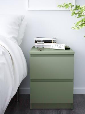 Прикроватная тумба Ikea Мальм 503.113.11 (светло-зеленый)