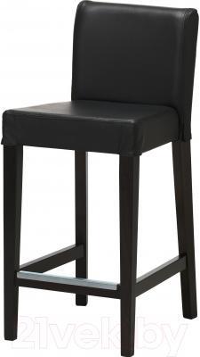 Стул Ikea Хенриксдаль 503.189.87 (коричнево-черный/черный)