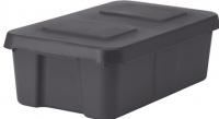 Контейнер для хранения Ikea Клэмтаре 102.923.62 (темно-серый) -