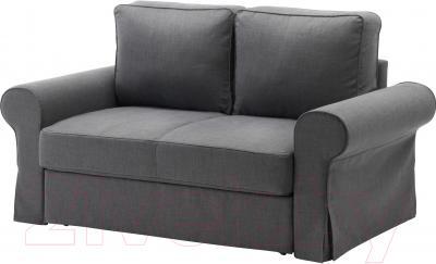 Чехол на диван - 2 местный Ikea Баккабру 503.232.34 (темно-серый)