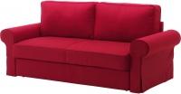 Чехол на диван - 3 местный Ikea Баккабру 503.232.48 (красный) -