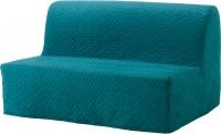 Чехол на диван - 2 местный Ikea Ликселе 503.234.08 (бирюзовый) -