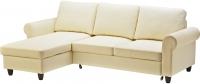 Угловой диван-кровать Ikea Фиксхульт 503.308.71 (бежевый) -