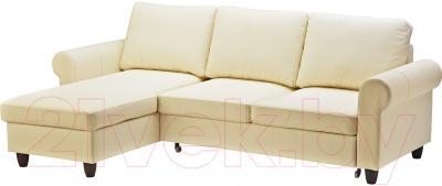 Угловой диван-кровать Ikea Фиксхульт 503.308.71 (бежевый)