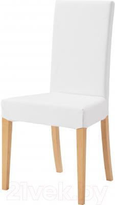 Стул Ikea Харри 601.058.29 (береза/белый)