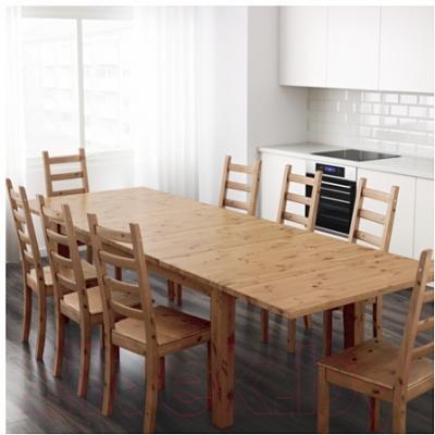 Обеденный стол Ikea Стурнэс 601.523.40 (морилка, антик)