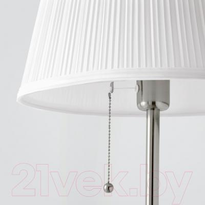 Торшер Ikea Орстид 601.638.62 (белый, никелированный)