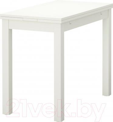 Обеденный стол Ikea Бьюрста 602.047.49 (белый)