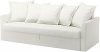 Чехол на диван - 3 местный Ikea Хольмсунд 102.995.18 (белый) -