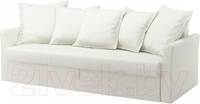 Чехол на диван - 3 местный Ikea Хольмсунд 102.995.18 (белый)
