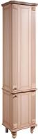 Шкаф-пенал для ванной Bliss Баккара 0453.4 (дуб молочный) -