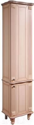 Шкаф-пенал для ванной Bliss Баккара 0453.4 (дуб молочный)
