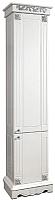 Шкаф-пенал для ванной Bliss Амелия-1 2Д 0455.4 (патина золото) -