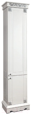 Шкаф-пенал для ванной Bliss Амелия-1 2Д 0455.4 (патина золото)