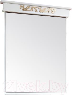 Зеркало для ванной Bliss Амелия 0455.6 (патина золото)