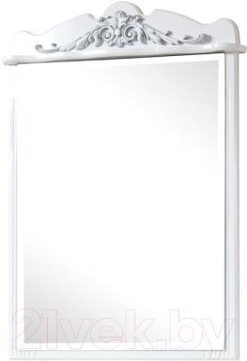 Зеркало для ванной Bliss Версаль 0454.4 (белый)