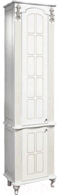 Шкаф-пенал для ванной Bliss Версаль 2Д 0454.6 (белый)