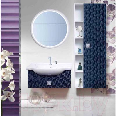 Шкаф-пенал для ванной Bliss Магия 0448.3 (золотой песок) - в интерьере