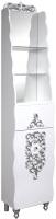 Шкаф-пенал для ванной Bliss Искушение 1Д1Я 0459.10 (белый) -