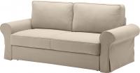 Чехол на диван - 3 местный Ikea Баккабру 603.232.57 (бежевый) -