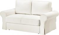 Чехол на диван - 2 местный Ikea Баккабру 603.233.99 (белый) -