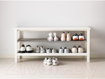 Скамья Ikea Чусиг 701.527.02 (с полкой для обуви) - в интерьере