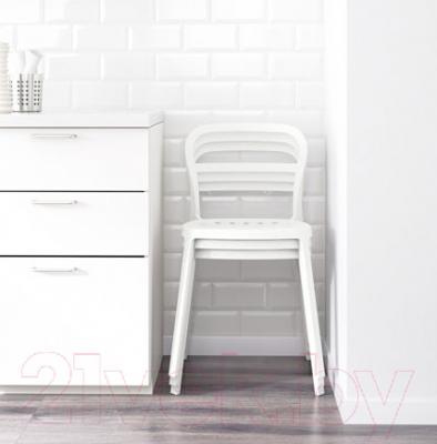 Стул Ikea Рейдар 701.775.09 (белый) - в интерьере