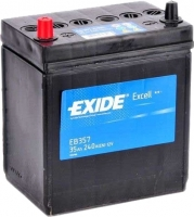 Автомобильный аккумулятор Exide Excell EB357 (35 А/ч) -