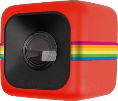 Экшн-камера Polaroid Cube / POLC3R (красный)