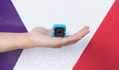 Экшн-камера Polaroid Cube / POLC3BL (синий)